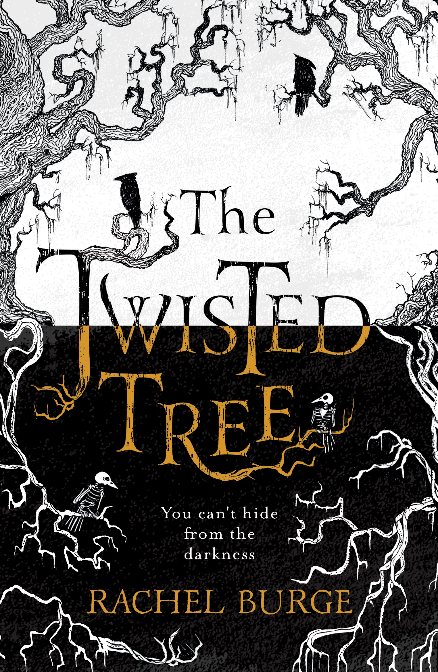 The Twisted Tree - finished front cover